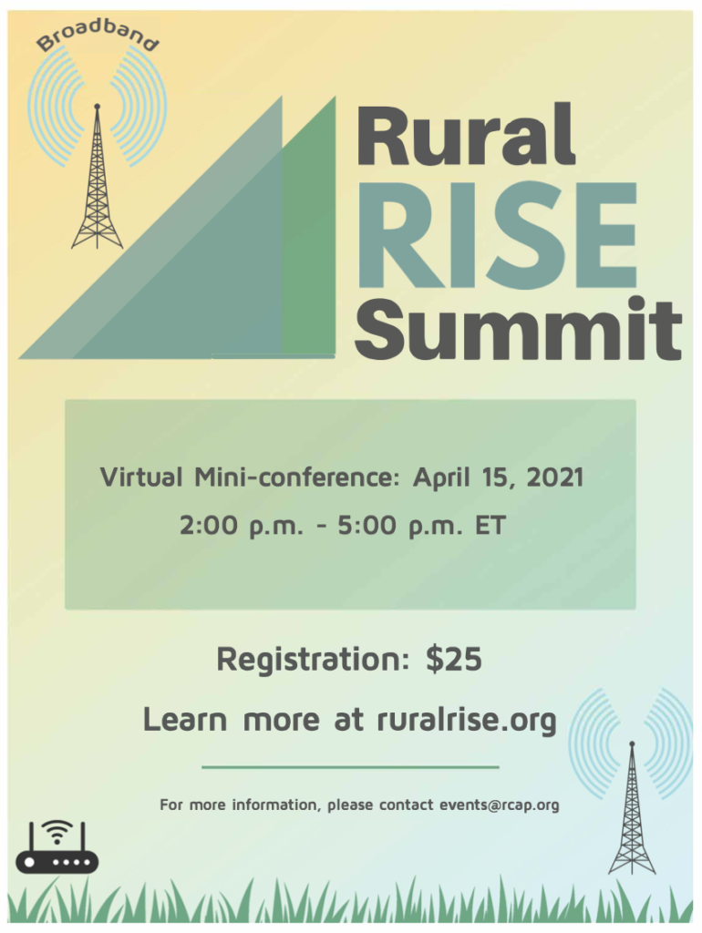 RuralRISE Virtual Mini-Conference, April 15 2021