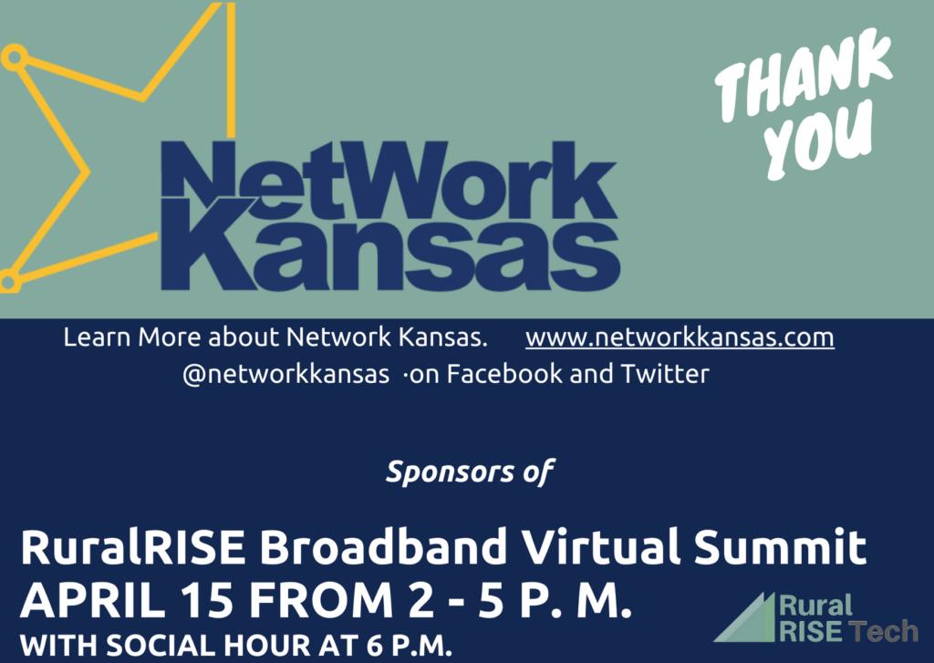 Thanks to our sponsors, Network Kansas!