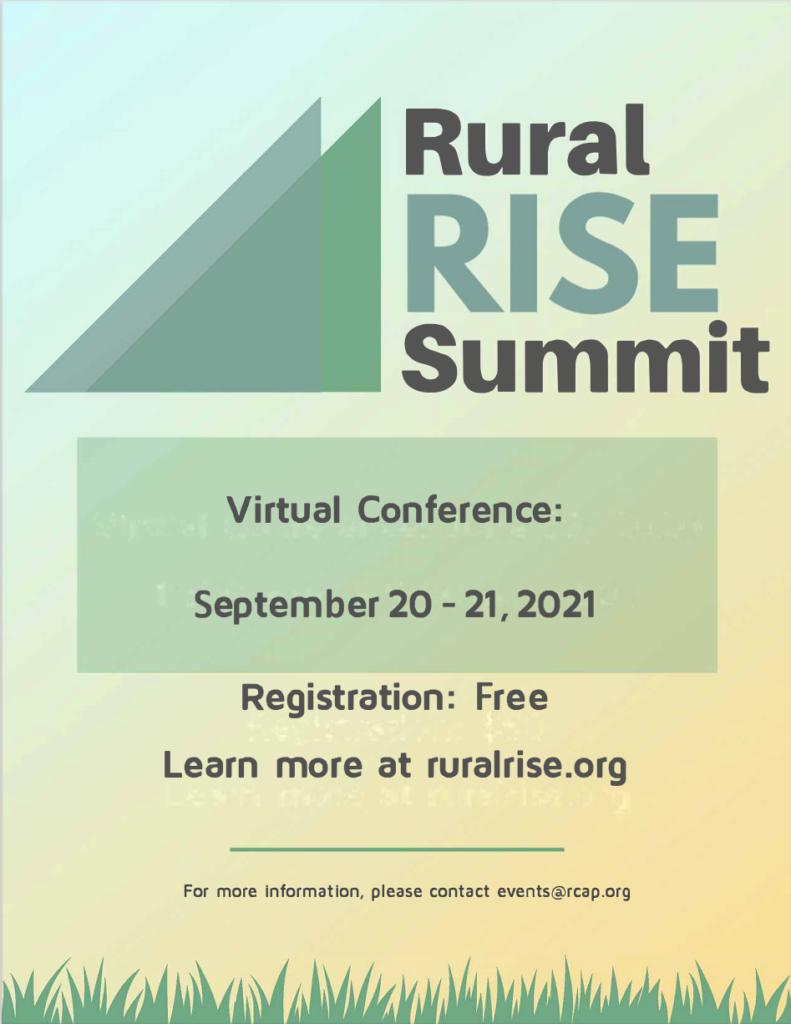 RuralRISE Summit Virtual Conference Sponsorship Packet